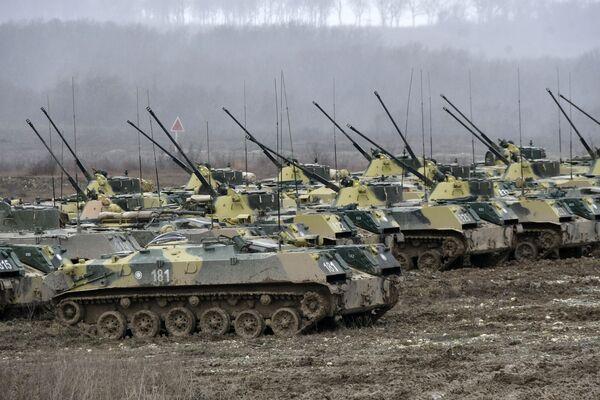 Ćwiczenia wojsk powietrznodesantowych - Sputnik Polska