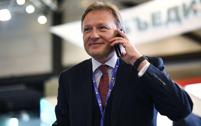 Borys Titow podczas forum Ekonomicznego w Petersburgu w 2017 roku