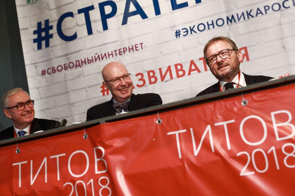 Borys Titow na spotkaniu ze Sztabem Wyborczym