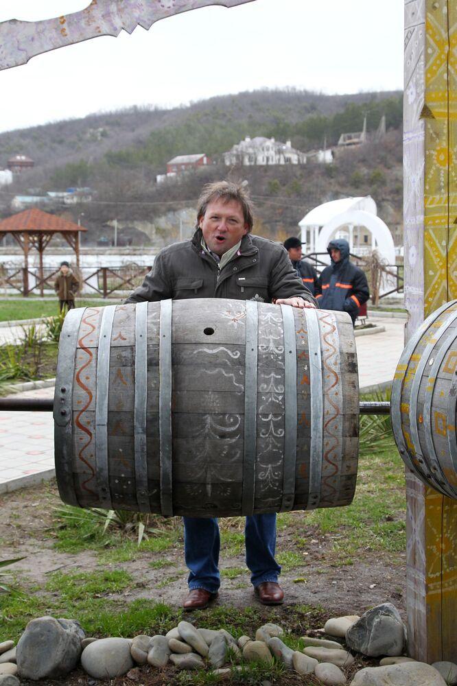 Dyrektor firmy Abrau-Durso Borys Titow