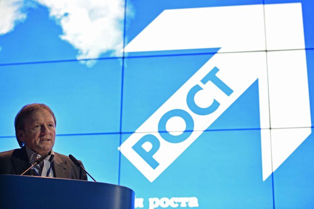 Kandydat na prezydenta Rosji Borys Titow