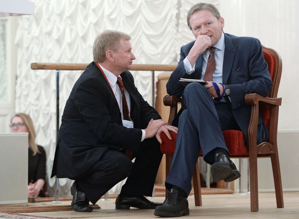 Kandydat na prezydenta Borys Titow