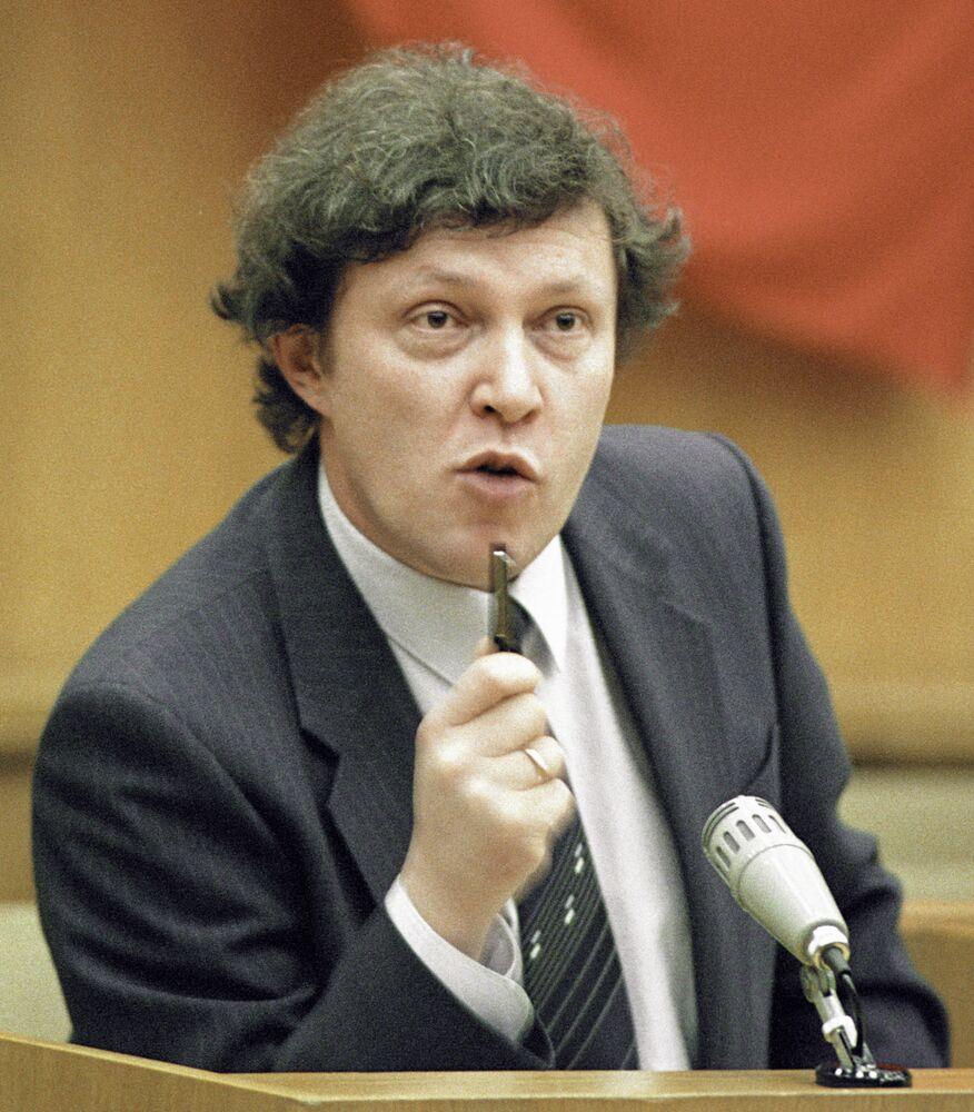 Przemówienie Grigorija Jawlińskiego, 1990 rok