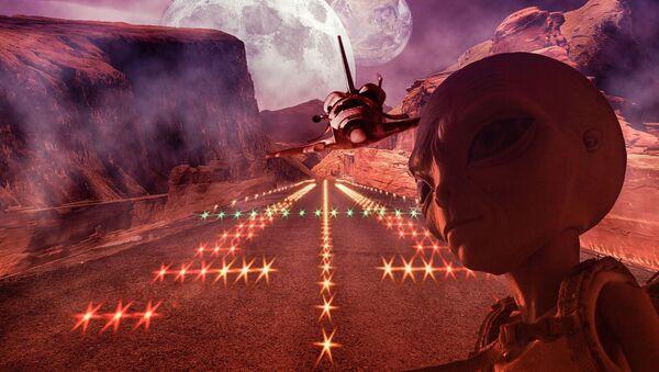 Mars alien - Sputnik Polska