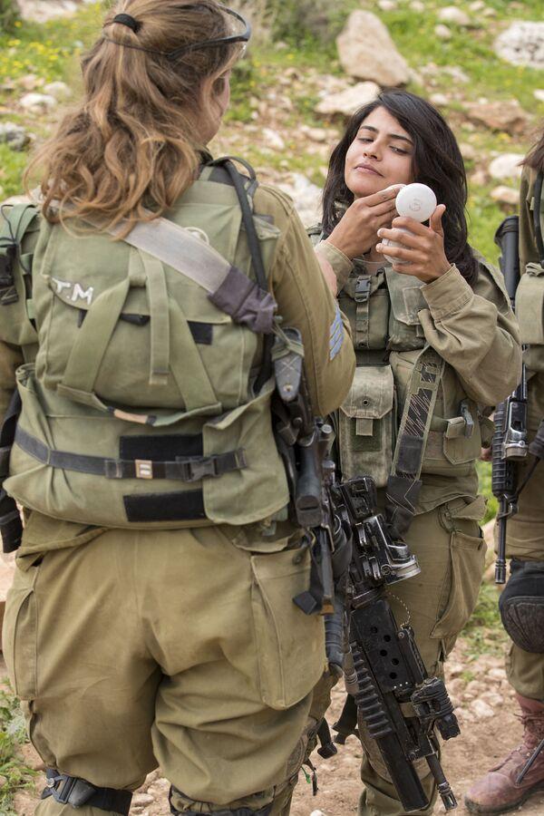 Żołnierki izraelskiej armii - Sputnik Polska