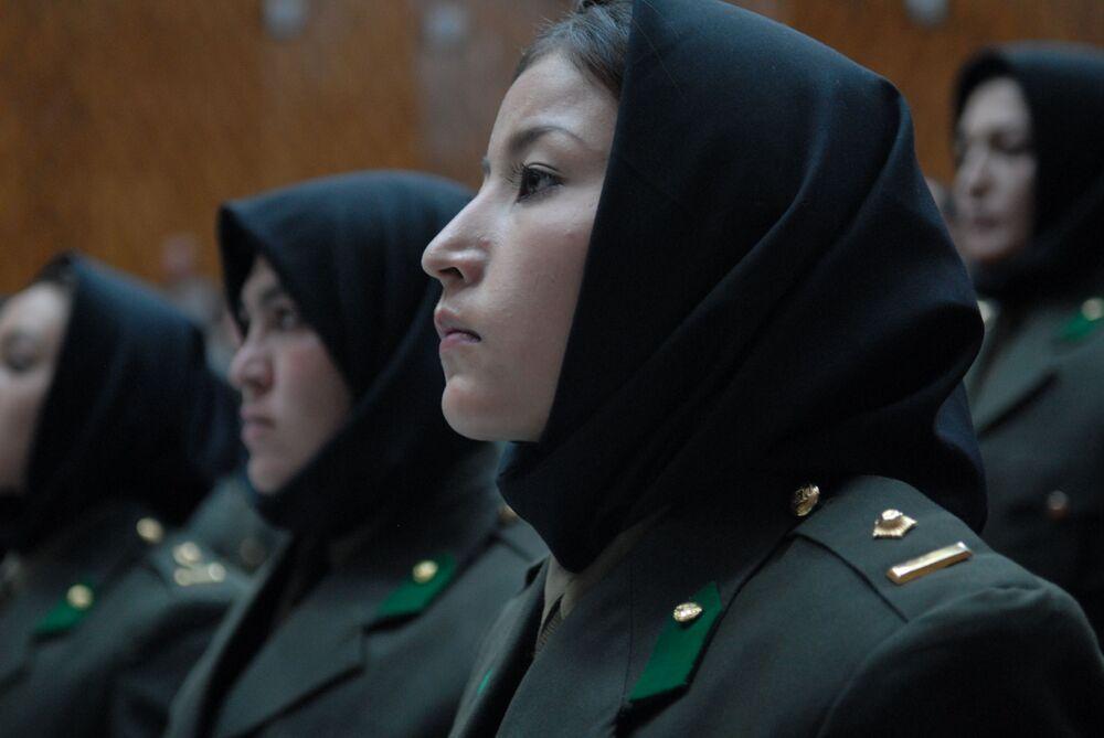 Żołnierki w Afganistanie
