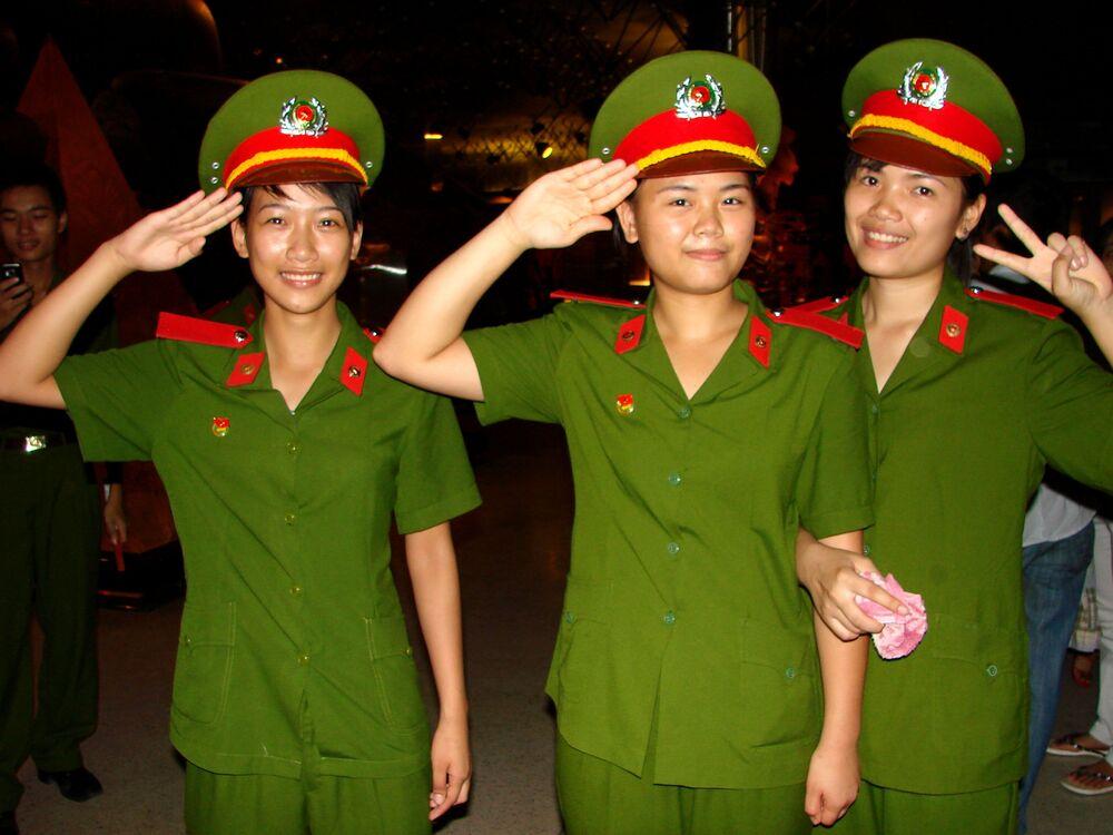 Żołnierki wietnamskiej armii