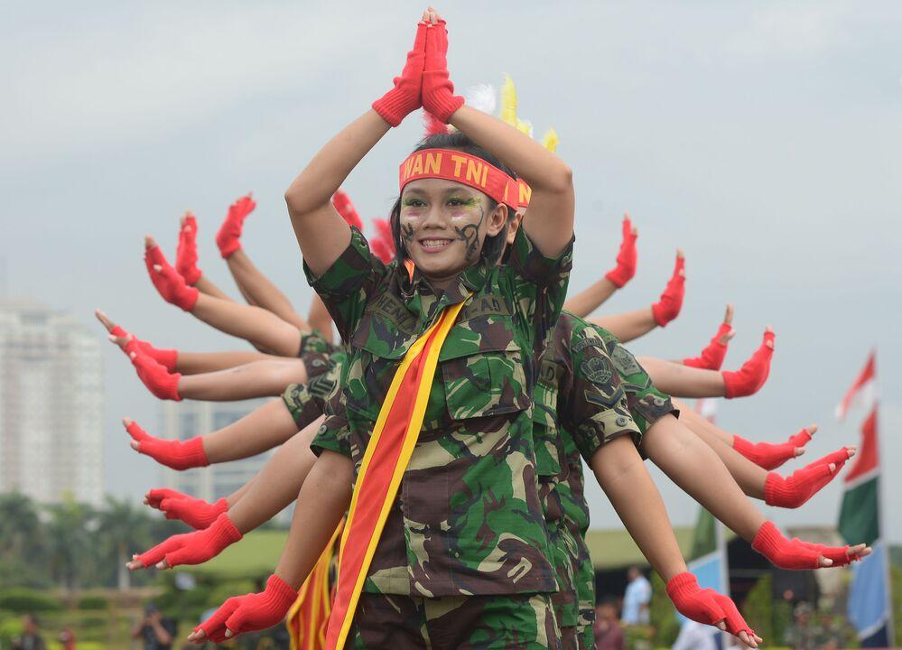Żołnierki indonezyjskiej armii