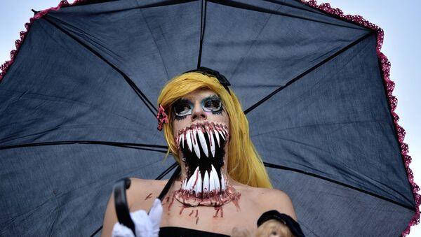 Parada Zombie w Meksyku - Sputnik Polska