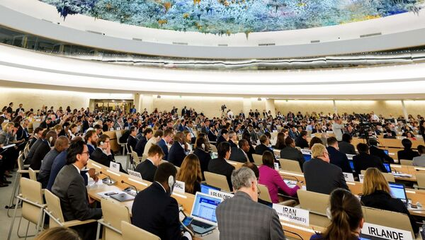 Rada Praw Człowieka ONZ w Genewie - Sputnik Polska