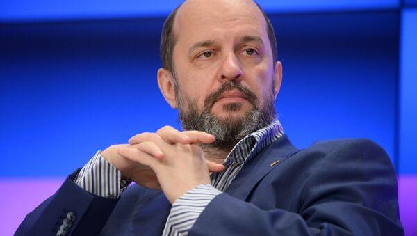 Doradca prezydenta Rosji ds. rozwoju internetu German Klimenko - Sputnik Polska