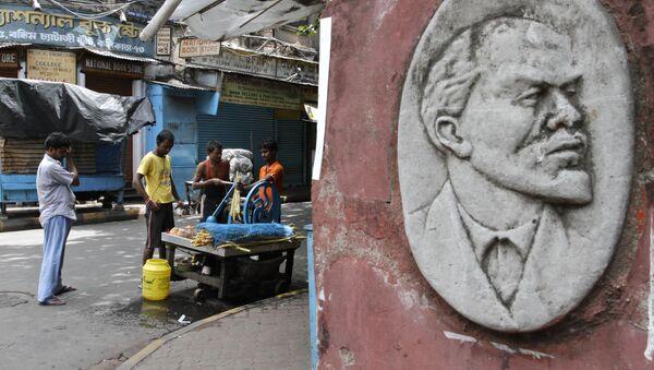 Płaskorzeźba Władimira Lenina w Kalkucie, Indie - Sputnik Polska