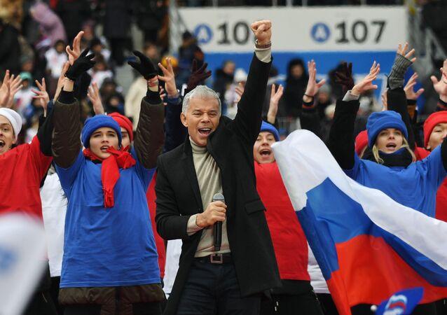 Miting poparcia Władimira Putina