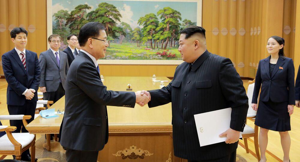 Wizyta południowokoreańskiej delegacji w Korei Północnej