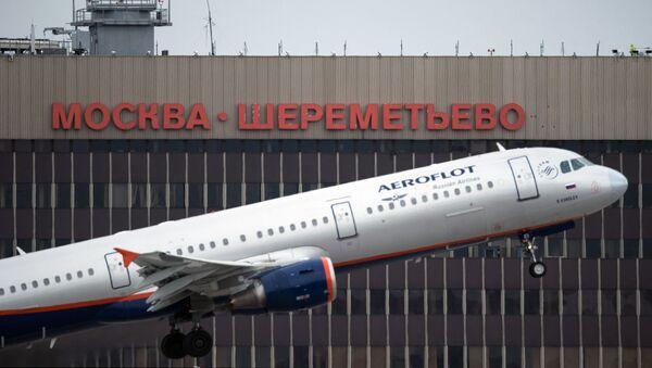 Lotnisko Moskwa-Szeremietiewo  - Sputnik Polska