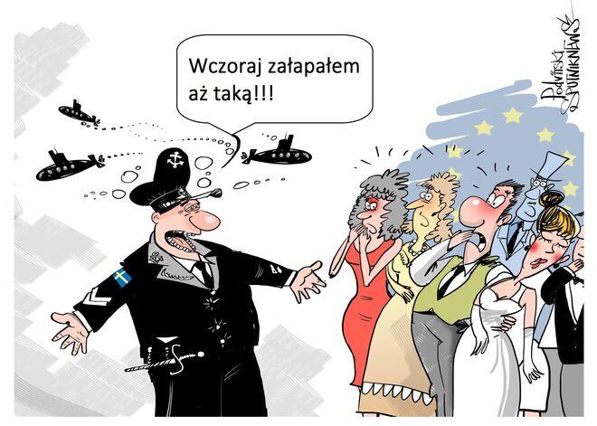 """Kolejny """"rosyjski okręt podwodny"""" w szwedzkich wodach"""