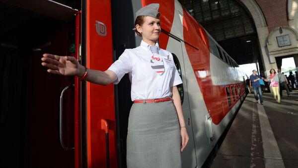Ekspres został wyprodukowany w Rosji, co jest dobitnym przykładem zamienienia zagranicznej produkcji na krajową - Sputnik Polska
