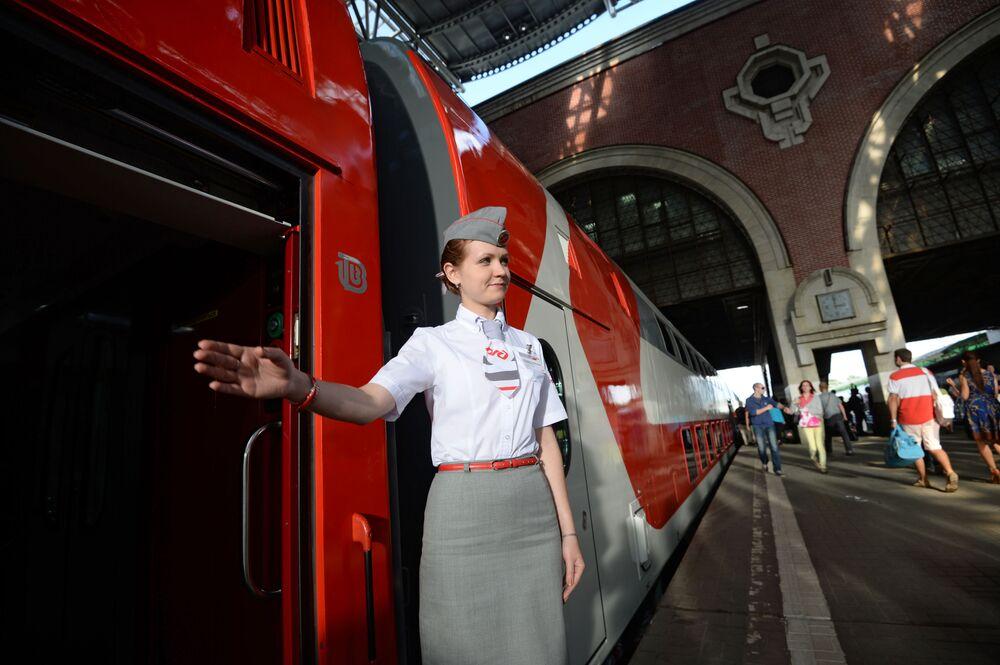 Ekspres został wyprodukowany w Rosji, co jest dobitnym przykładem zamienienia zagranicznej produkcji na krajową