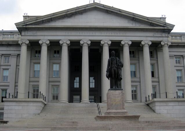 Budynek Departamentu Skarbu w Waszyngtonie