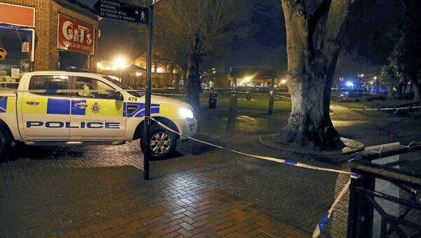 Policja w Salisbury, gdzie otruto rosyjskiego szpiega - Sputnik Polska