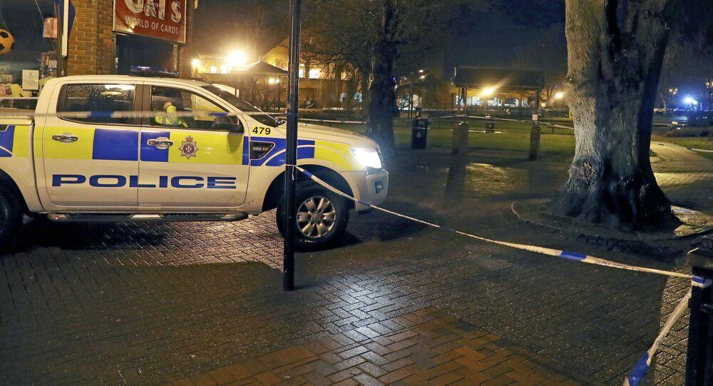 Policja w Salisbury, gdzie otruto rosyjskiego szpiega