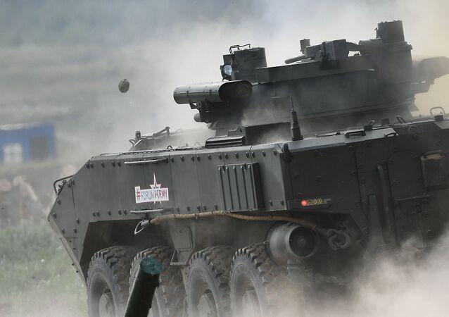 """Kołowy bojowy wóz piechoty K-17 """"Bumerang-BM"""""""
