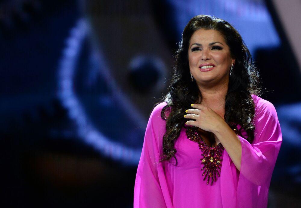 Rosyjska śpiewaczka, solistka operowa Anna Netrebko