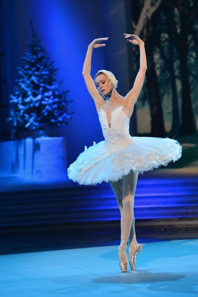 Rosyjska balerina Uliana Łopatka