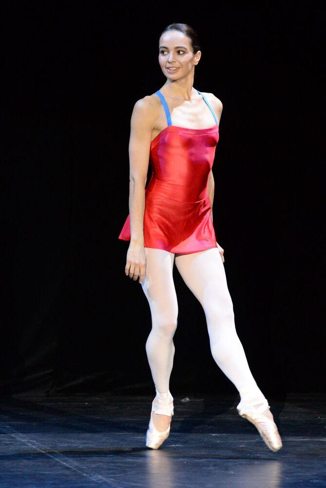 Rosyjska baletnica Diana Wiszniowa