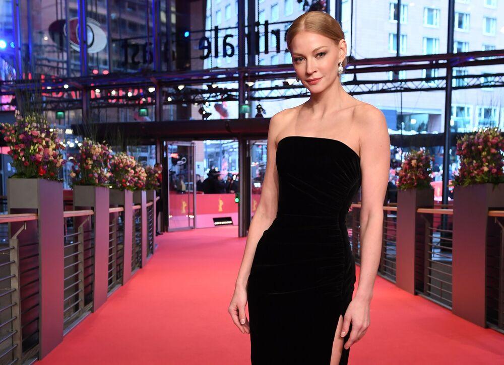 Rosyjska aktorka Swietłana Chodczenkowa