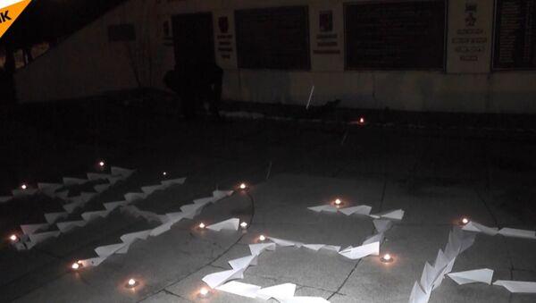 Wiec ku pamięci ofiar katastrofy An-26 w Syrii - Sputnik Polska