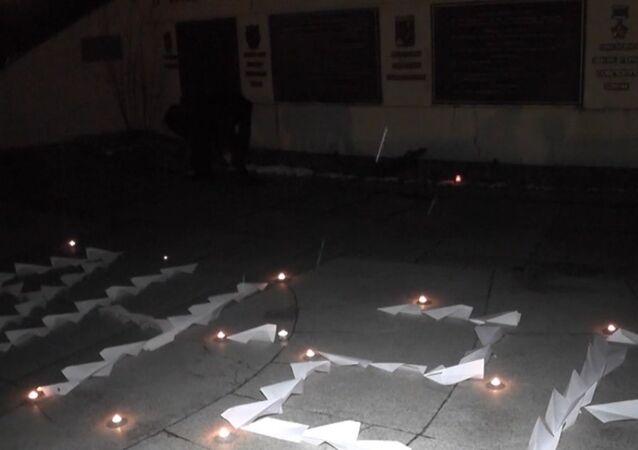 Wiec ku pamięci ofiar katastrofy An-26 w Syrii