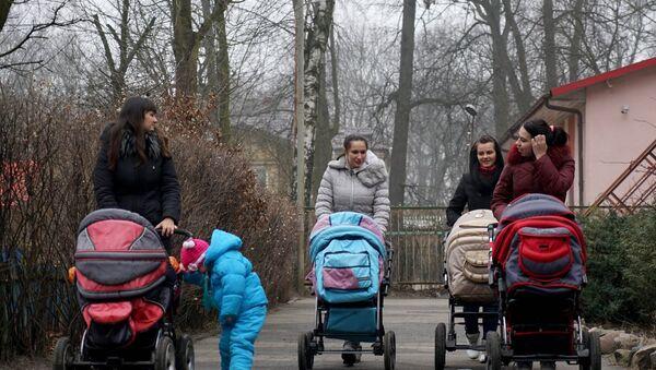 Kobiety z dziećmi - Sputnik Polska