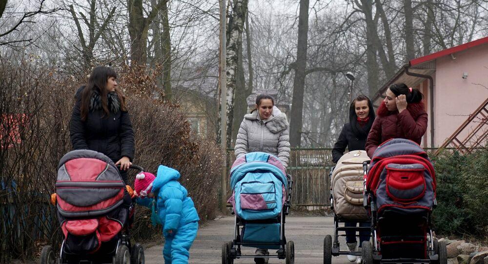 Kobiety z dziećmi