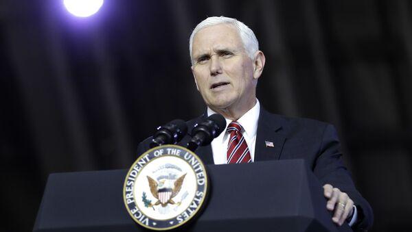 Wiceprezydent USA Mike Pence. Zdjęcie archiwalne - Sputnik Polska