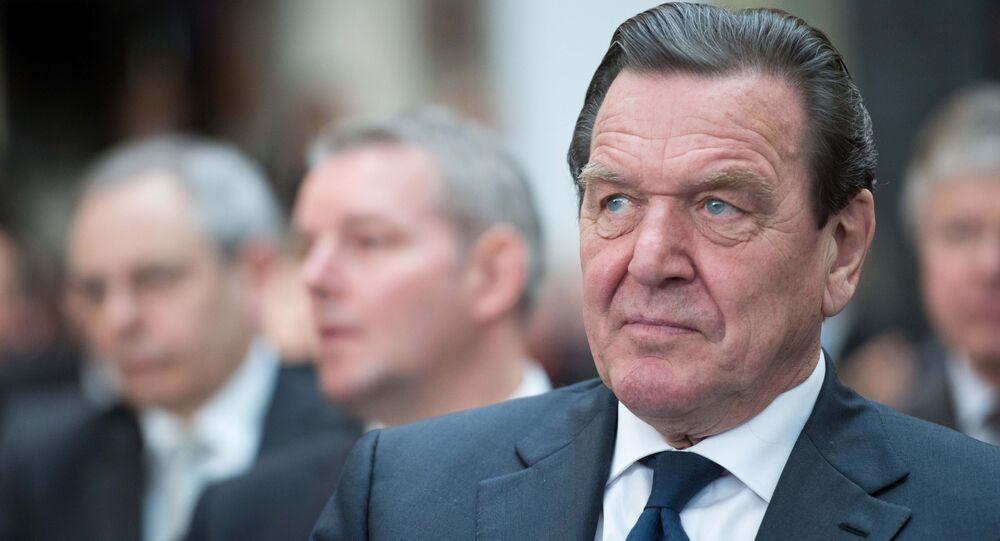 Były kanclerz Niemiec Gerhard Schröder