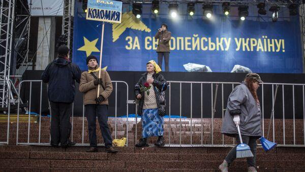 Zwolennicy eurointegracji Ukrainy - Sputnik Polska