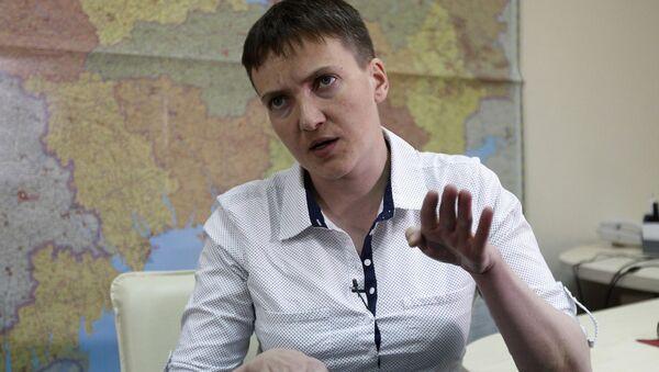 Nadieżda Sawczenko. Zdjęcie archiwalne - Sputnik Polska