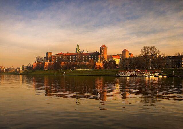 Rzeka Wisła w Krakowie