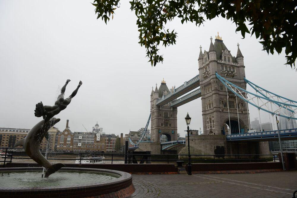 Rzeka Tamiza w Londynie