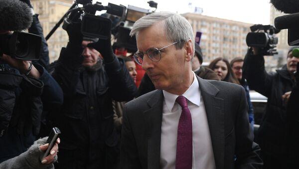 Ambasador Wielkiej Brytanii w Rosji Laurie Bristow - Sputnik Polska