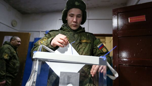 Rosjanie już głosują w wyborach prezydenckich - Sputnik Polska