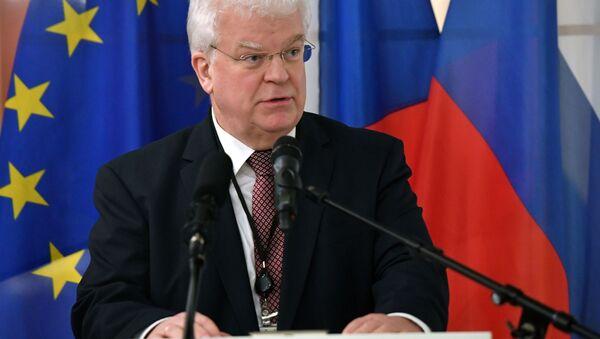 Stały przedstawiciel Rosji przy Unii Europejskiej Władimir Czyżow - Sputnik Polska