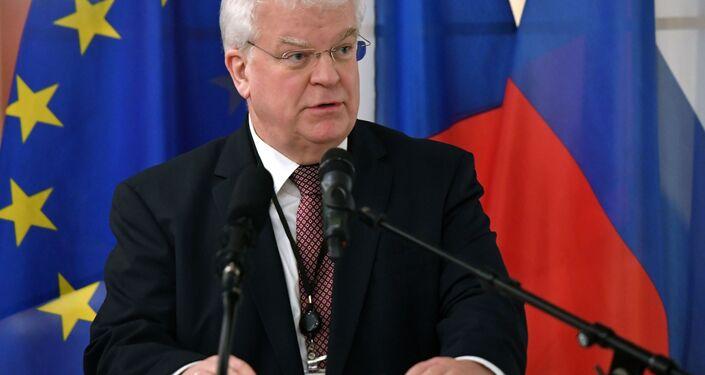 Stały przedstawiciel Rosji przy Unii Europejskiej Władimir Czyżow