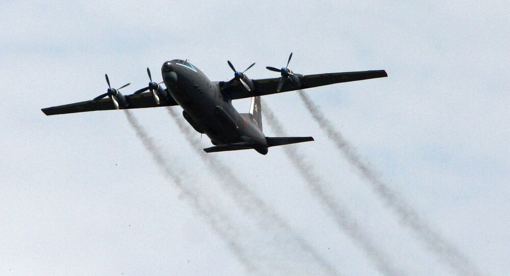 Samolot wojskowo-transportowy An-12. Zdjęcie archiwalne