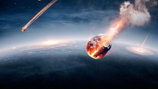 Meteoryty w atmosferze Ziemi - Sputnik Polska