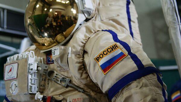 Rosyjski skafander dla pracy w otwartym kosmosie Orłan MK - Sputnik Polska