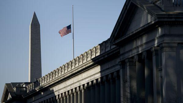 Departament Skarbu USA w Waszyngtonie - Sputnik Polska