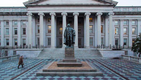 Departament Finansów w Waszyngtonie - Sputnik Polska