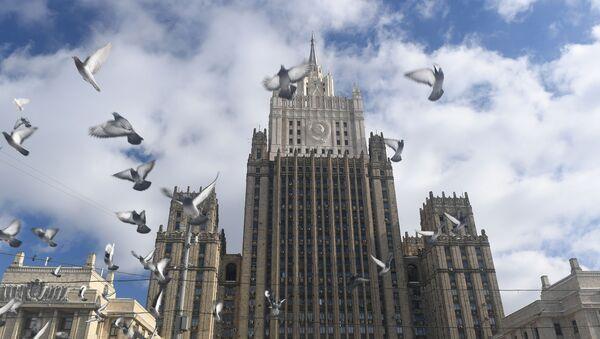 Gmach Ministerstwa Spraw Zagranicznych Rosji w Moskwie - Sputnik Polska